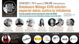 XV Databeers Málaga cartel